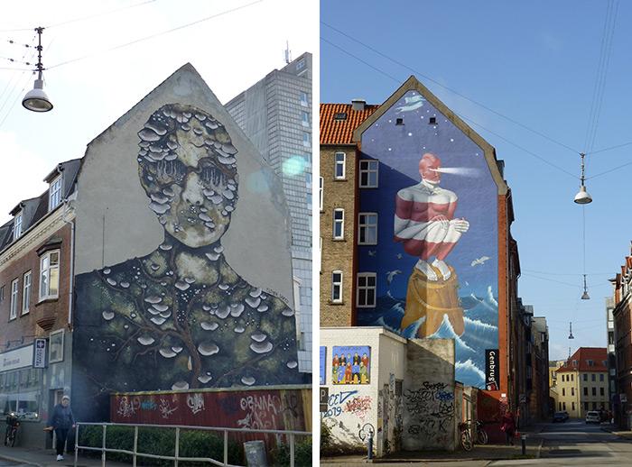 danemark aalborg street art
