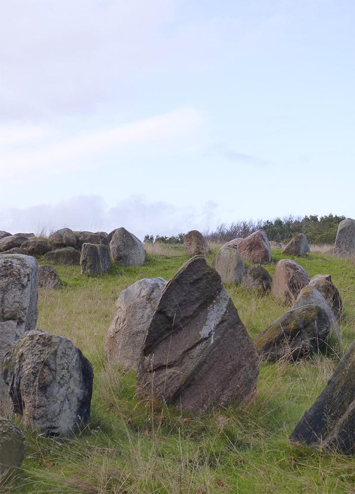 cimetière viking danemark Lindholm Høje