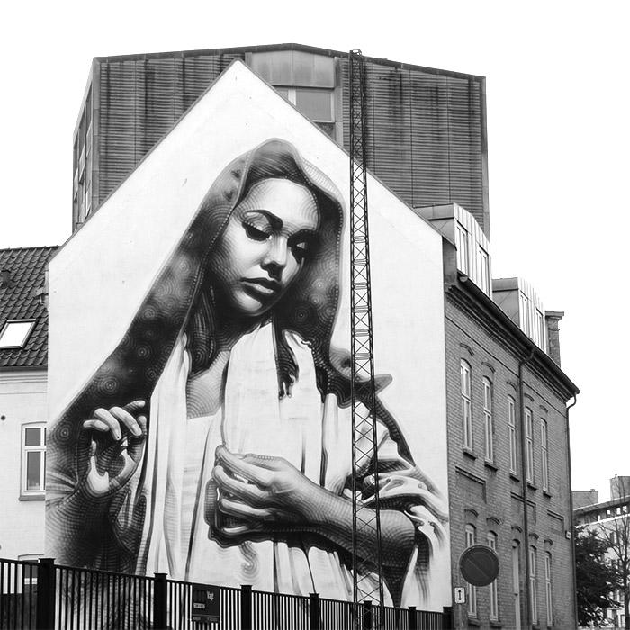 aalborg murals street art danemark