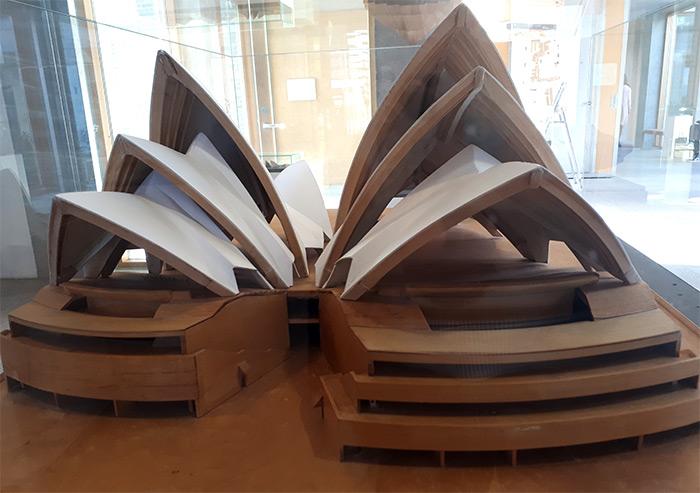 maquette opera sydney utzon