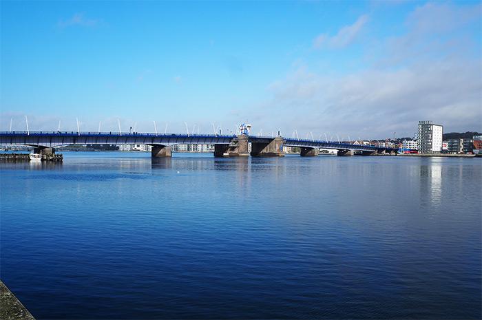 danemark aalborg front de mer