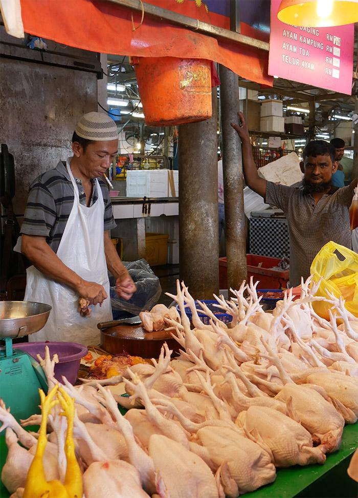 malaisie marché chow kit kuala lumpur