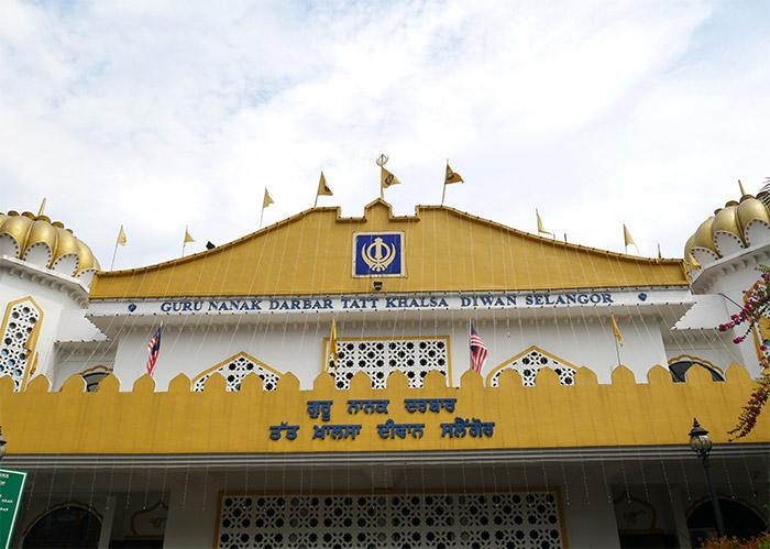 kuala lumpur kampung bharu temple sikh