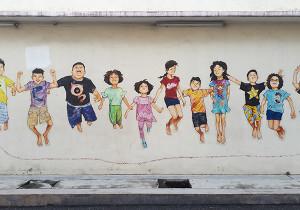 perak ipoh street art malaisie