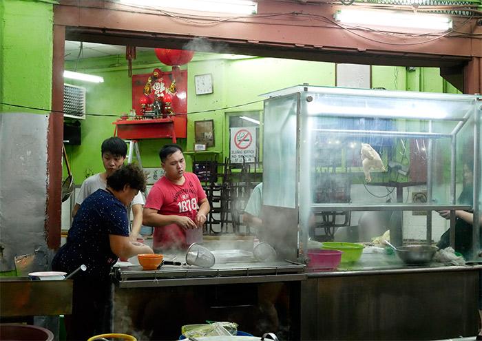 malaisie ipoh perak marché nocturne