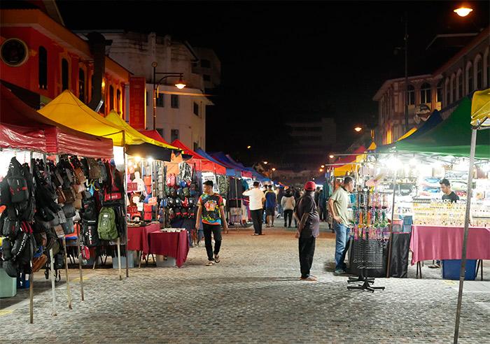 marché nocturne ipoh malaisie