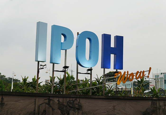 malaisie ipoh sign