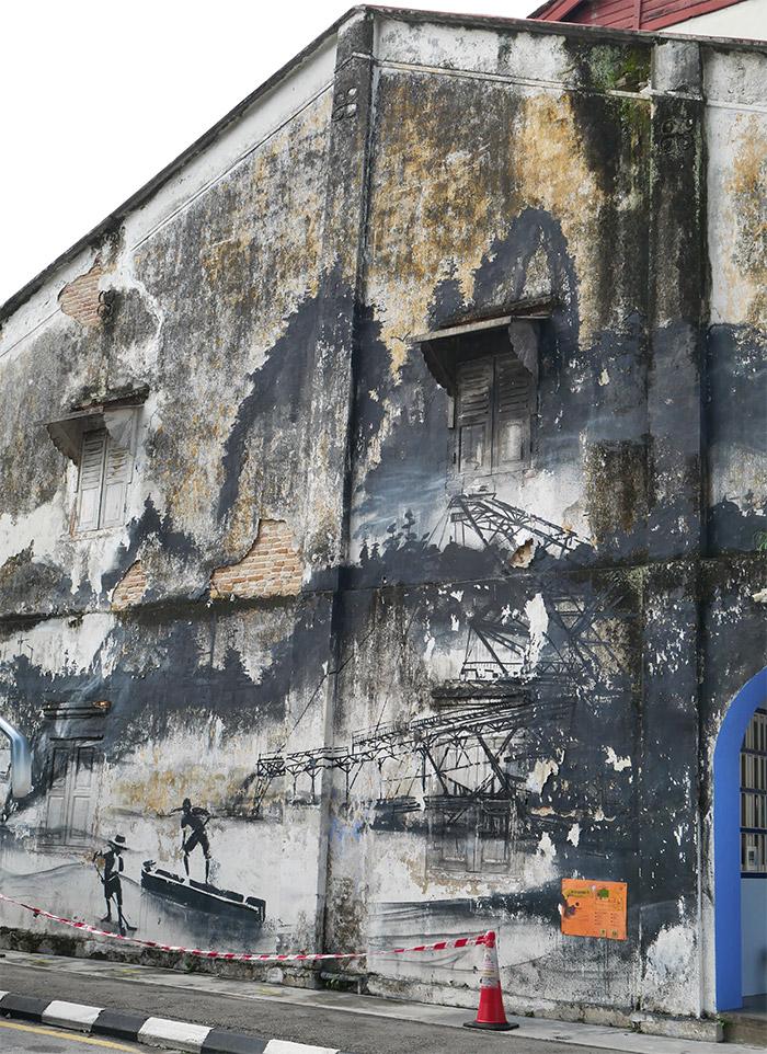 malaisie ipoh fresques art