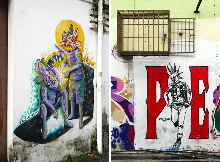 perak ipoh street art