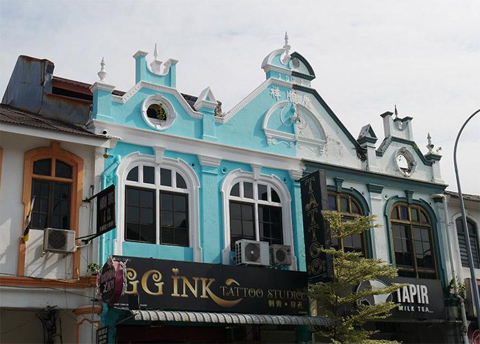 architecture ipoh malaisie