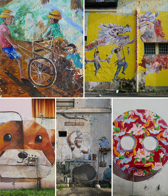 malaisie perak ipoh street art