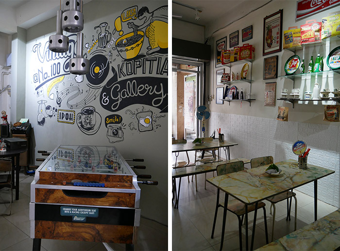 no100 vintage cafe ipoh food