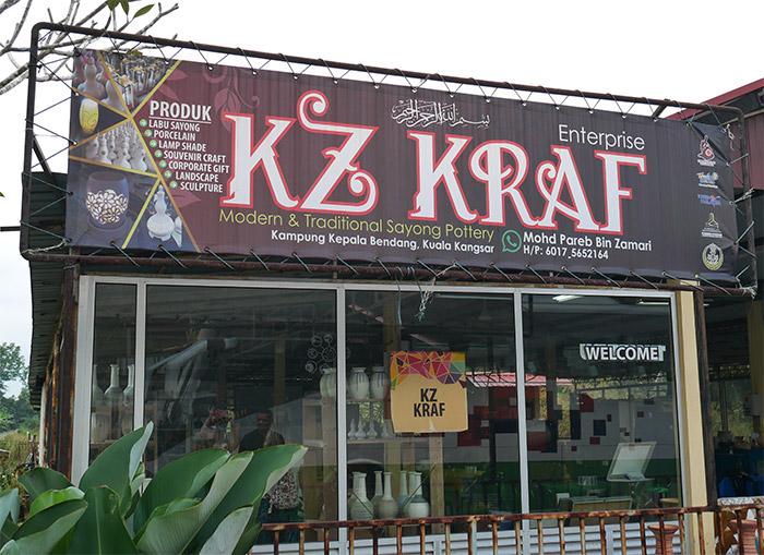 malaisie poterie kz kraf perak