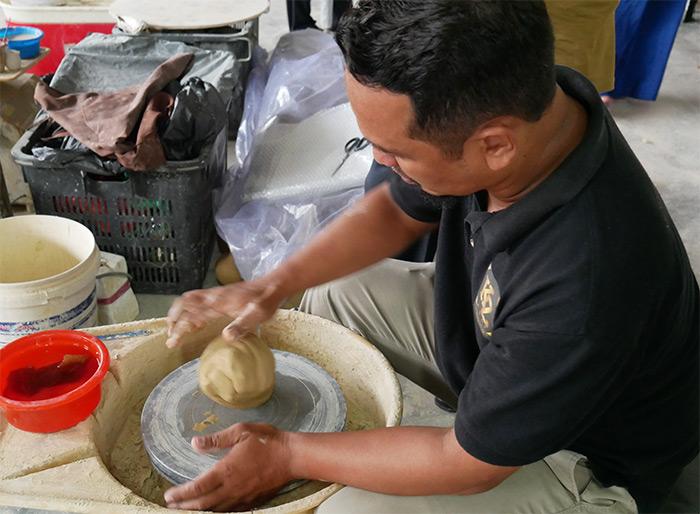 poterie kz kraf perak malaisie