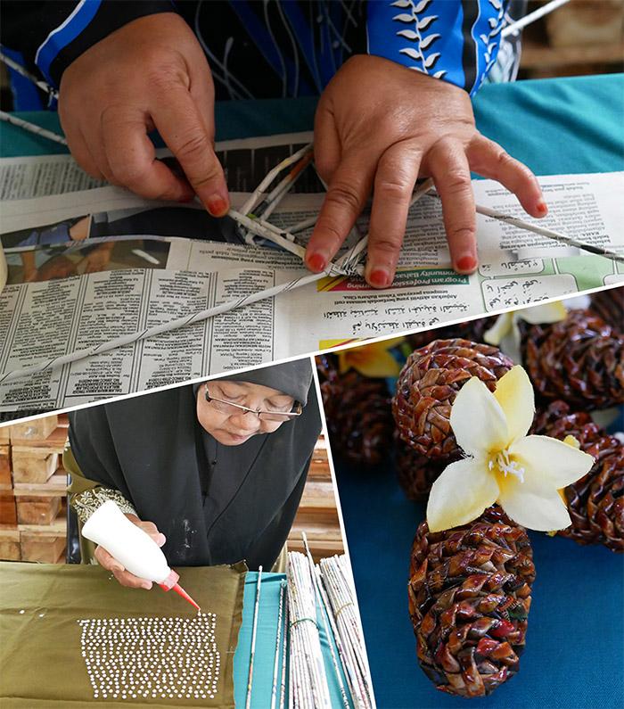 artisanat malaisie perak