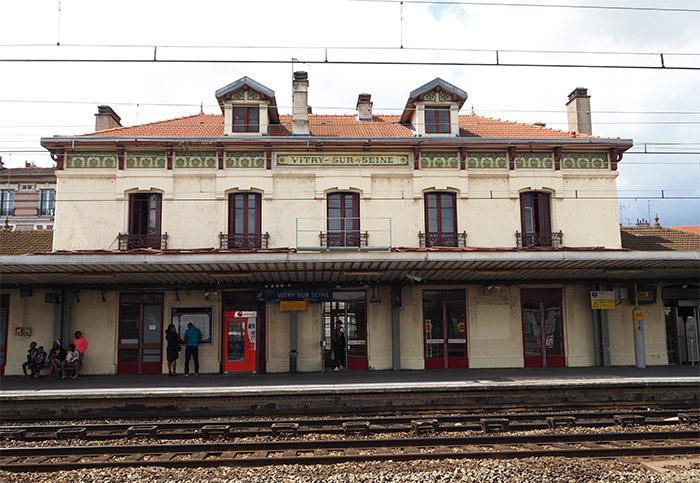 vitry sur seine gare RER