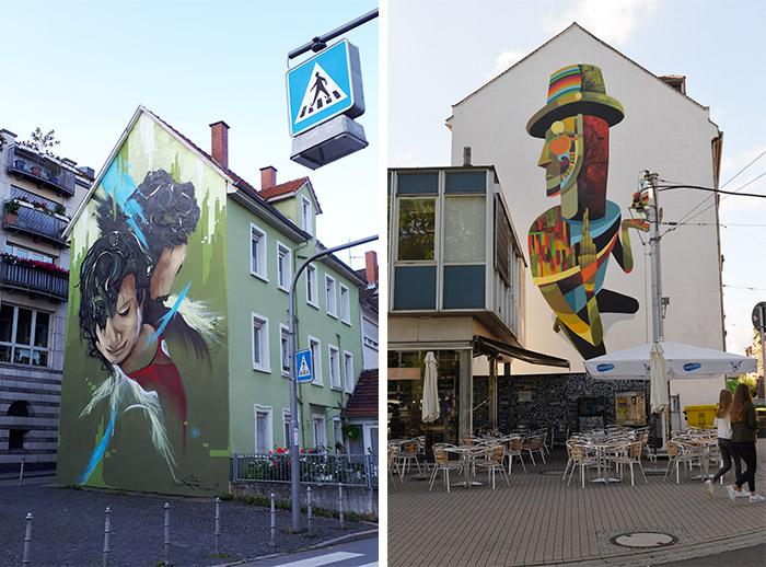 Heidelberg street art allemagne Daniel Thouw