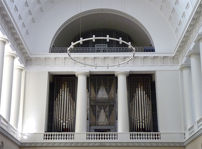 copenhague cathedrale orgue