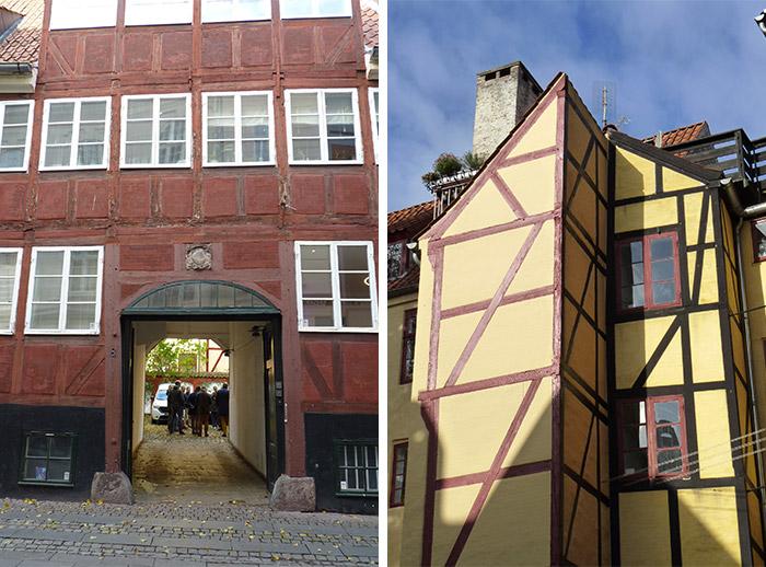 copenhague maisons anciennes quartier latin