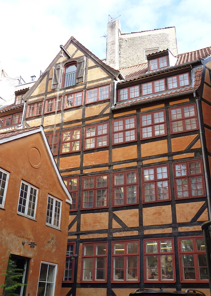 maisons anciennes copenhague