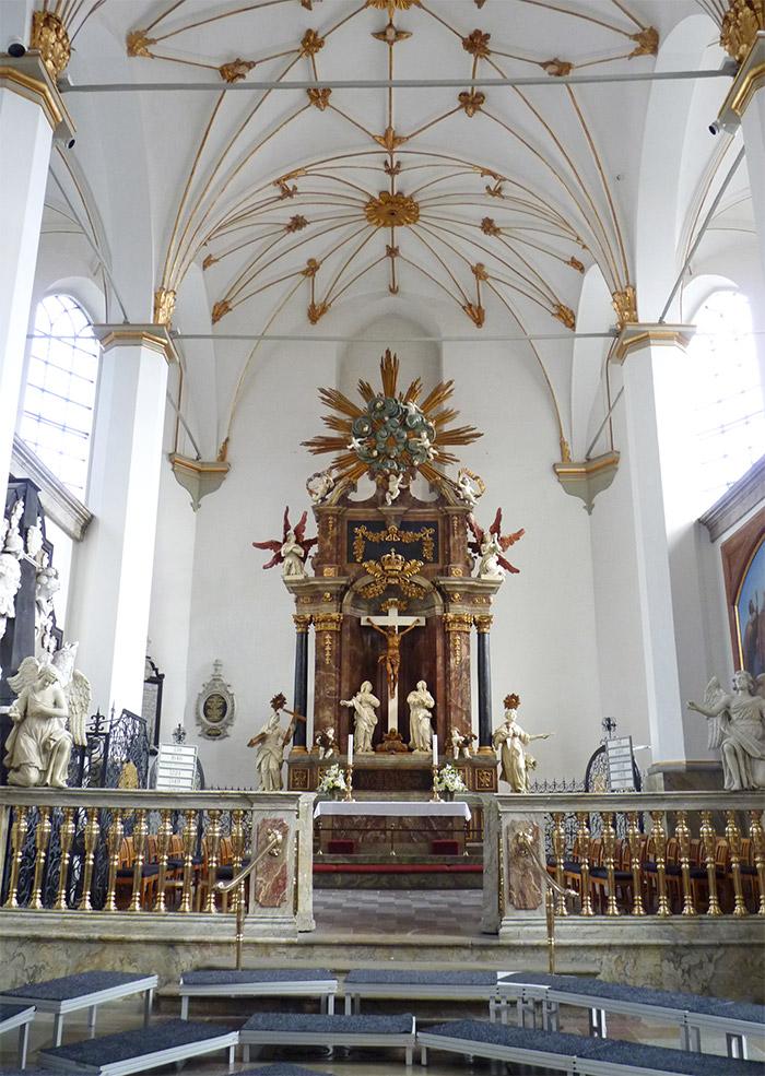 copenhague eglise trinitatis