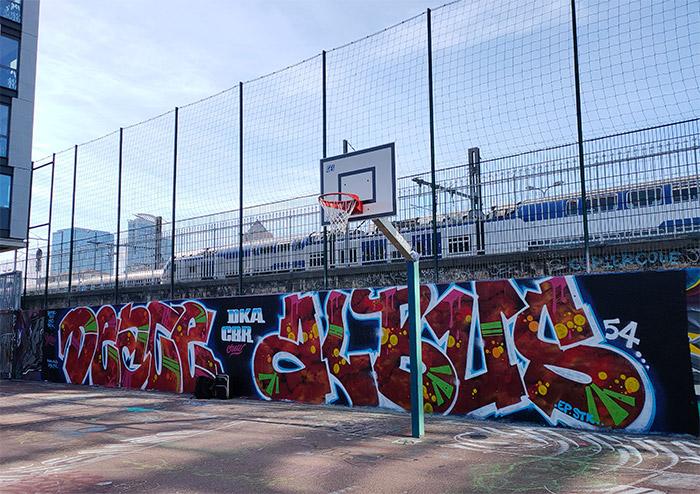 graffiti lyon terrain basket