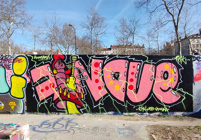 lyon graffiti skate park foch