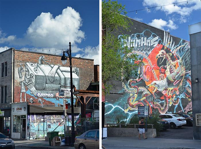 montreal quebec street art phlegm