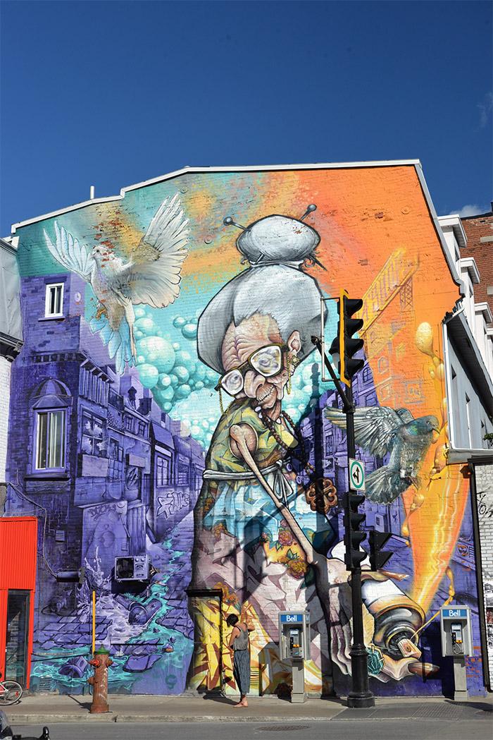mural festival Montreal street art