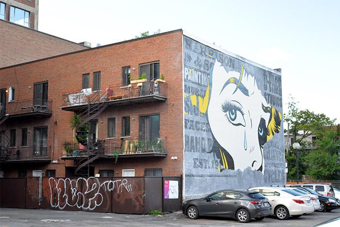 D*Face montreal street art