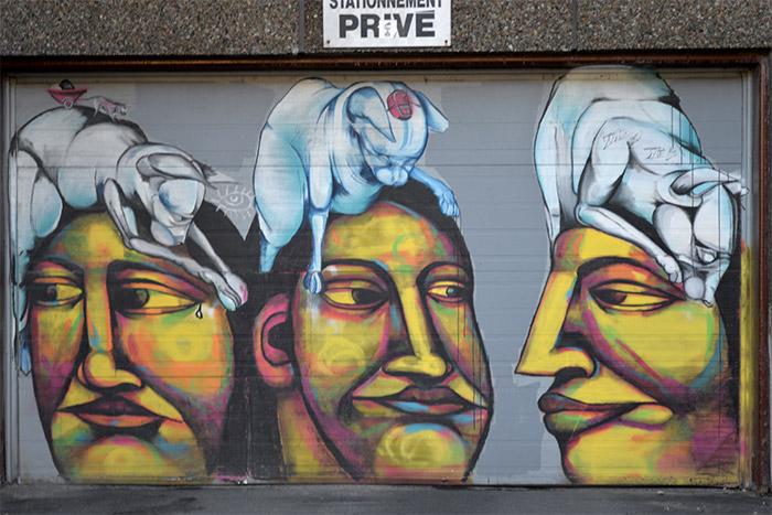 labrona montreal street art