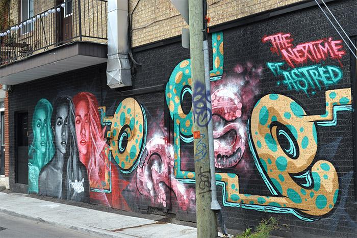 montreal mural festival art