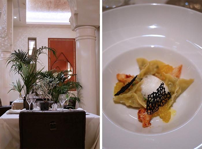 tanger hilton restaurant olivier