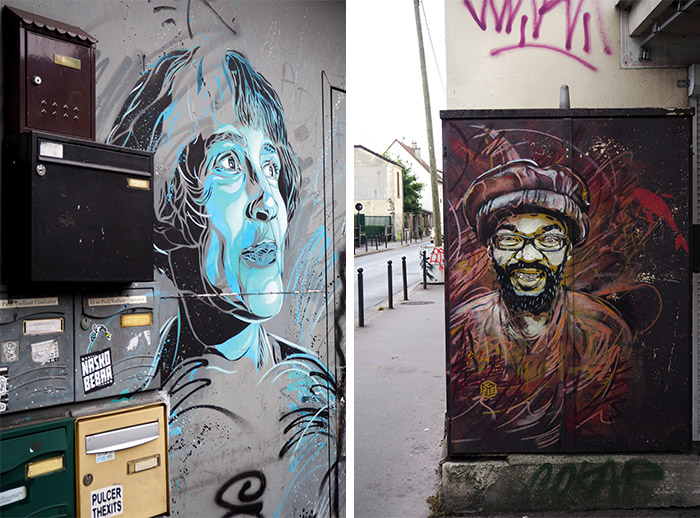 vitry sur seine street art C215 guemy