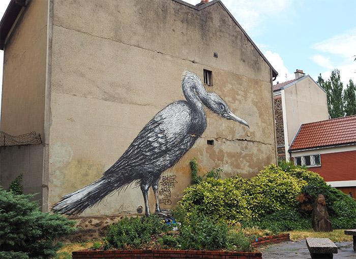 Roa Vitry sur seine street art