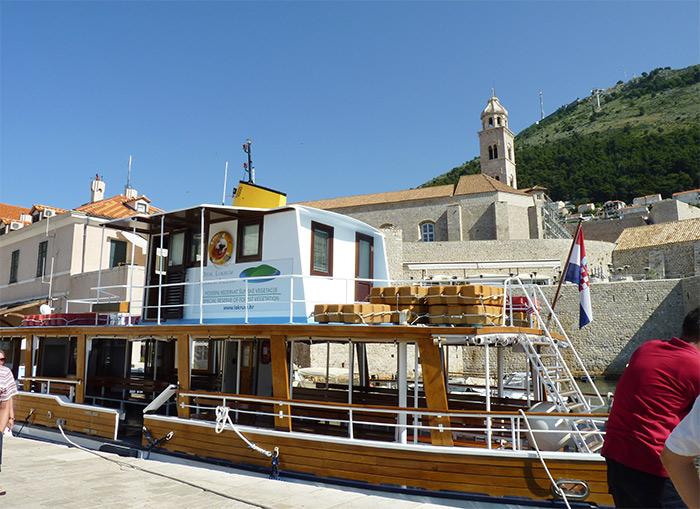 croatie dubrovnik bateau port