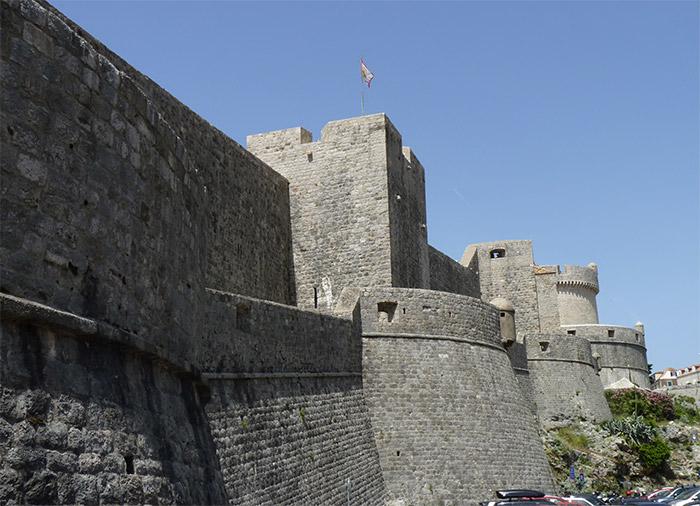 muraille dubrovnik croatie