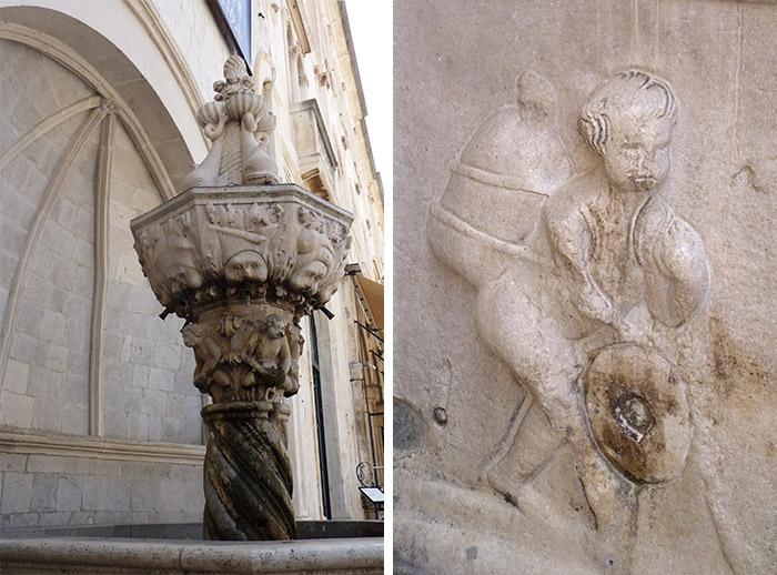 petite fontaine onofrio dubrovnik