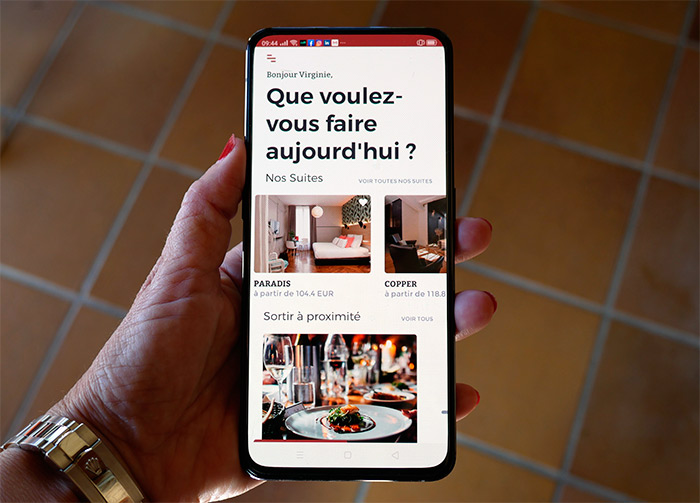 application mi hotel lyon