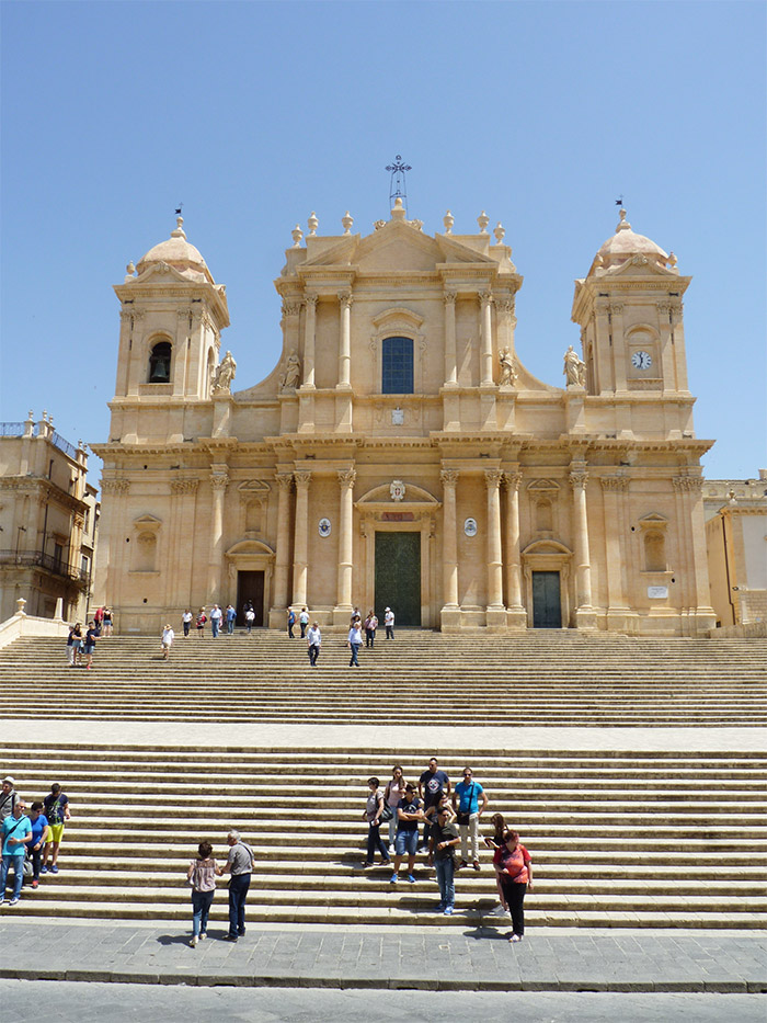 sicile duomo noto cathedrale