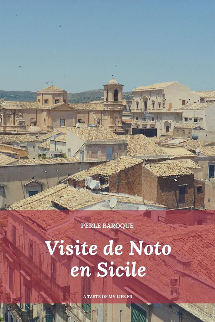 noto sicile baroque visite
