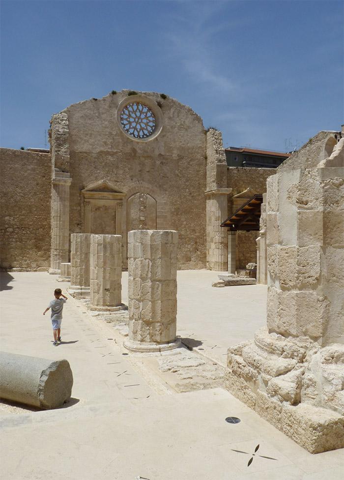 sicile syracuse ruines basilique san giovanni