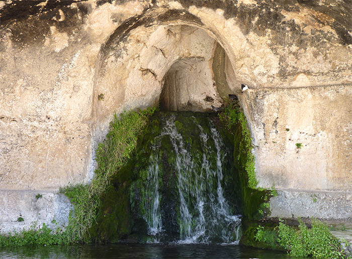 sicile syracuse neapolis fontaine