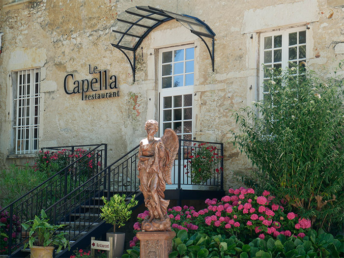 restaurant gastronomique capella isere chateau