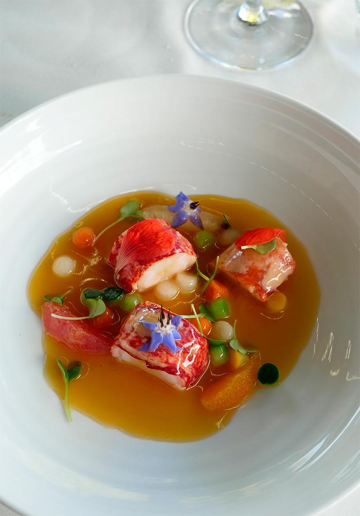 capella homard restaurant chapeau cornu