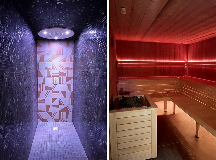 sauna spa cinq mondes chapeau cornu