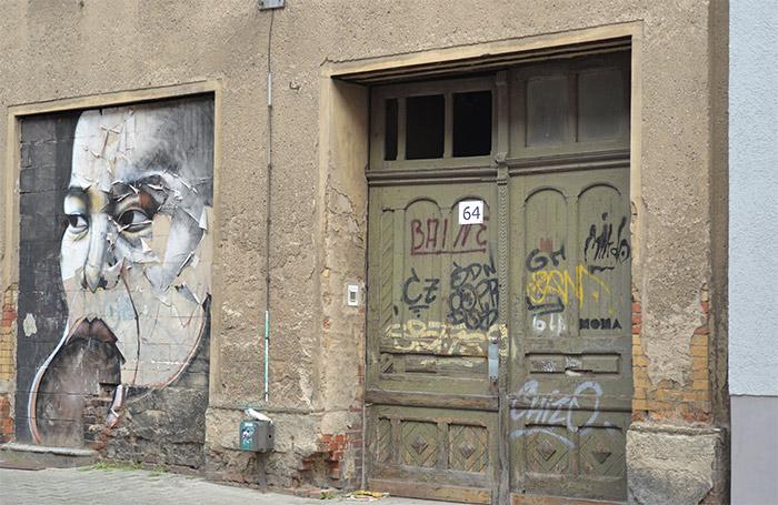 Saxen street art Halle murals alexandre keto