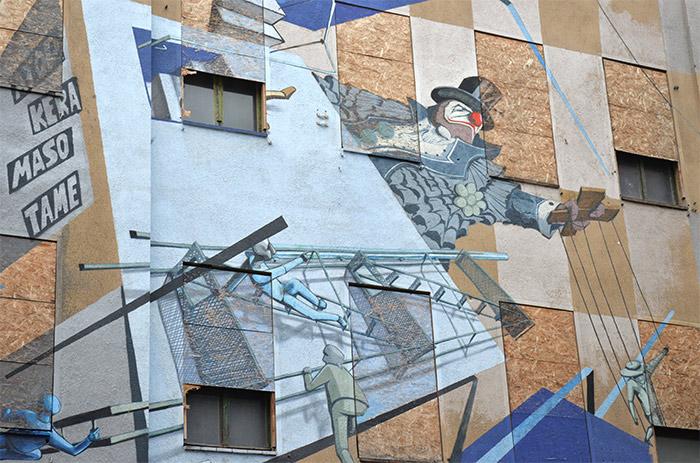 Saxe Allemagne street art Halle