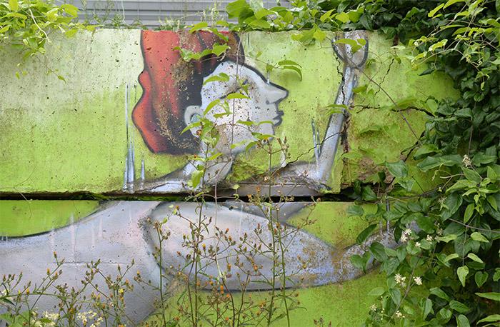 Halle street art Allemagne