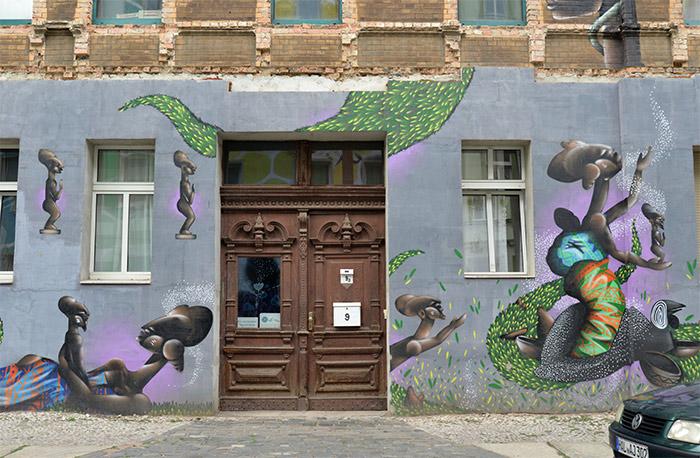 halle street art allemagne alexandre keto